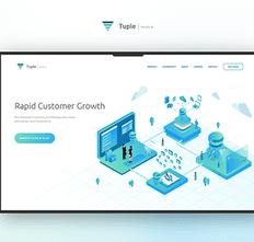 e1cbc2e0a Tuple.tech Website Design   illustration